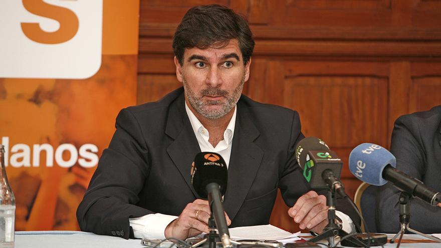 El candidato al Cabildo de Gran Canaria por Ciudadanos, Eduardo González. Foto: (ALEJANDRO RAMOS)