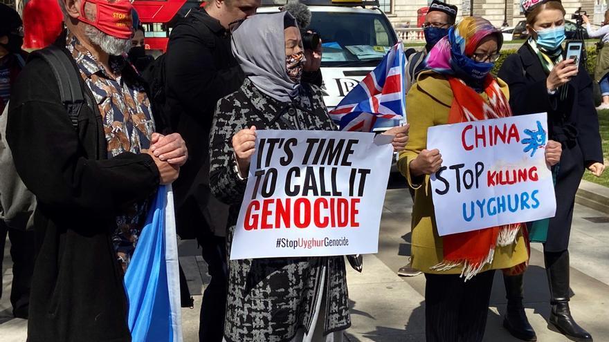 El Parlamento británico califica de genocidio el trato de China a los uigures