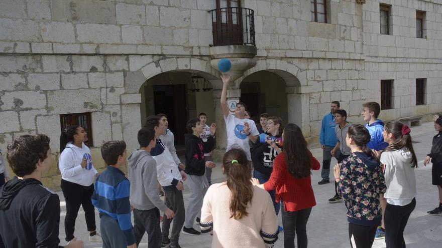 Las actividades se desarrollaron en el Albergue Gerardo Diego de Solórzano.