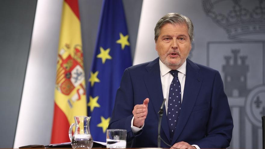 """El Gobierno dice a Puigdemont que la fuerza que piensa aplicar en Cataluña """"es la del Estado de Derecho"""""""