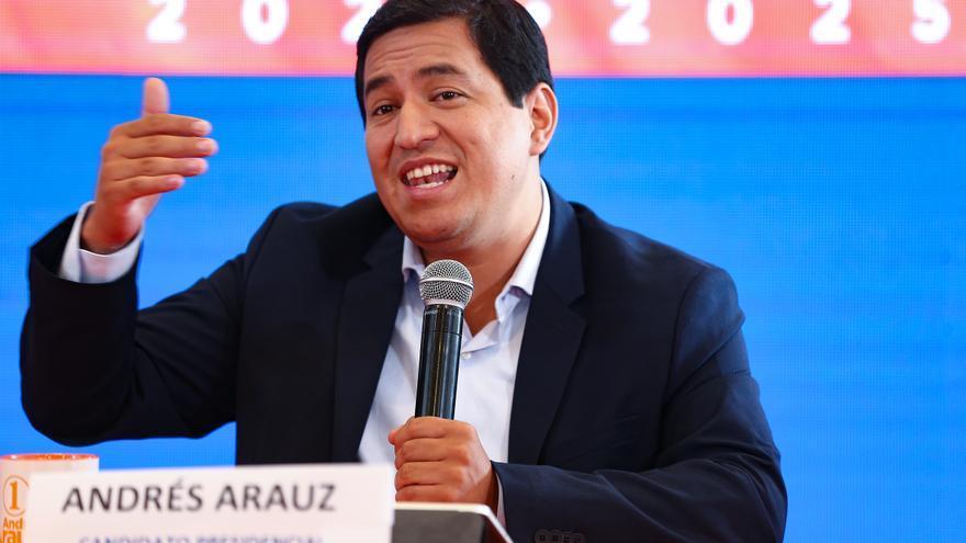 """Arauz se reúne con el FMI para tratar un programa que """"beneficie a los ecuatorianos"""""""