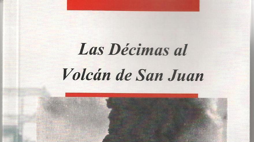Portada del libro de las décimas del Volcán de San Juán.
