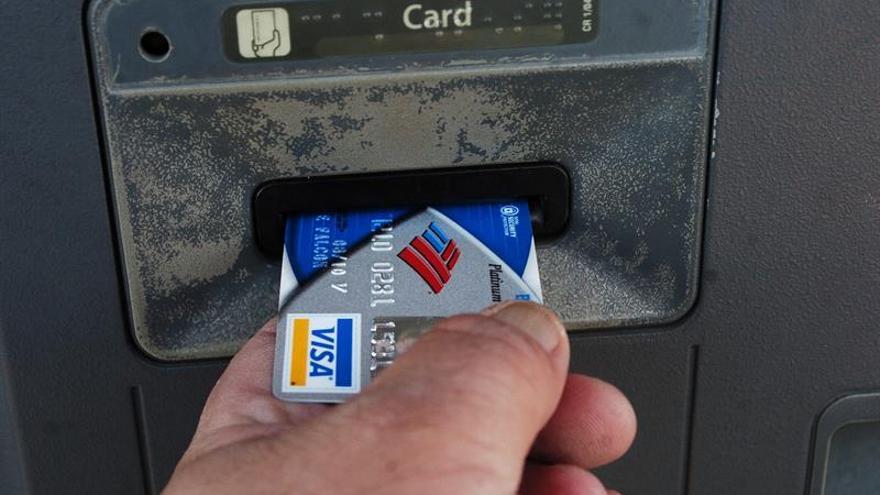 Beneficios semestrales de Visa bajan un 31,5 %