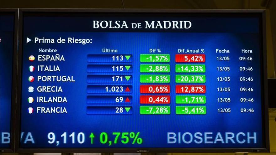 La prima de riesgo abre sin cambios, en 111 puntos, pese a la subida del bono
