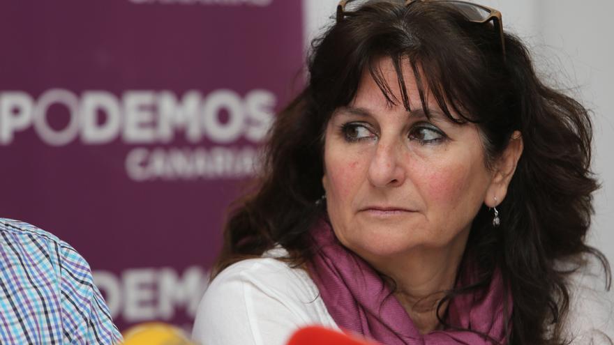 La diputada en el Parlamento de Canarias Concepción Monzón