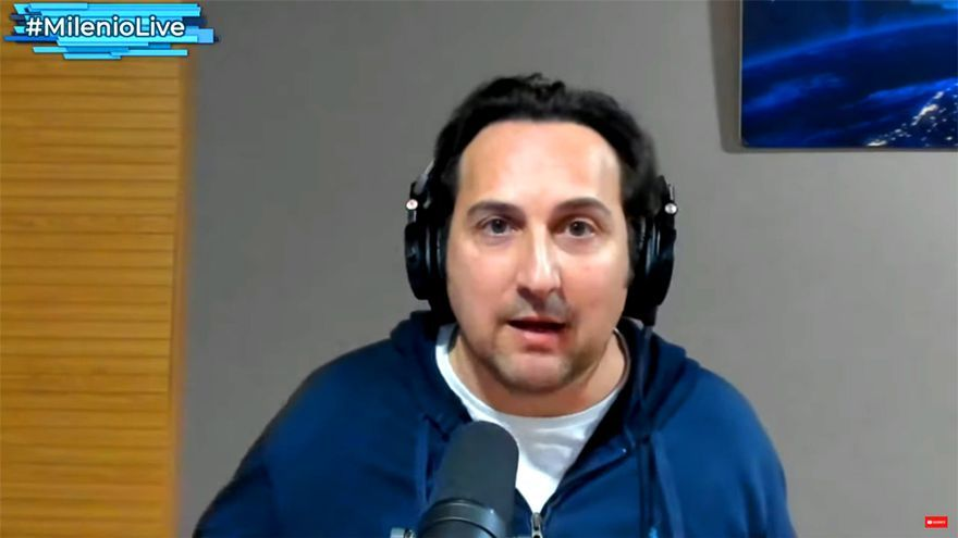 Iker Jiménez, en 'Milenio Live'