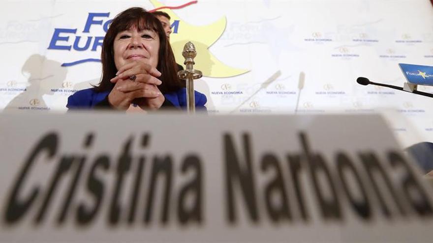 """Narbona urge al Gobierno a tomar """"medidas políticas"""" para evitar el referendo"""