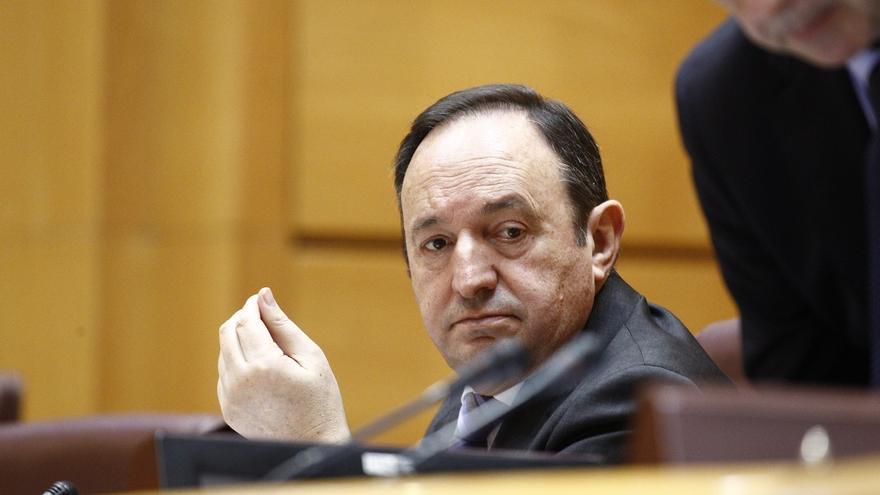 Pedro Sanz, vicepresidente primero del Senado y expresidente del Gobierno de La Rioja