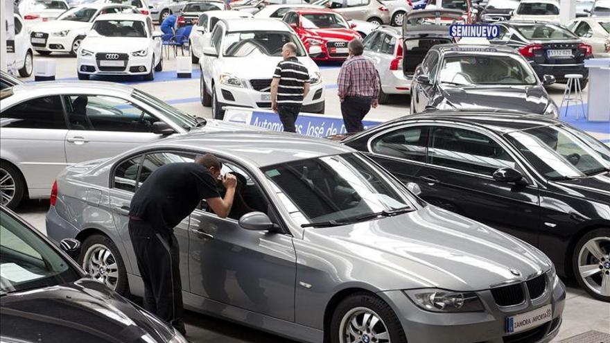 La venta de coches de segunda mano sube un 3,4 por ciento en Madrid