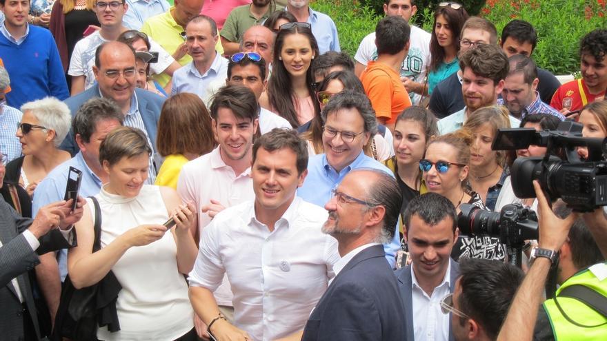 Ciudadanos cerrará la campaña con Rivera en A Coruña y con Villegas y Villacís en Vitoria