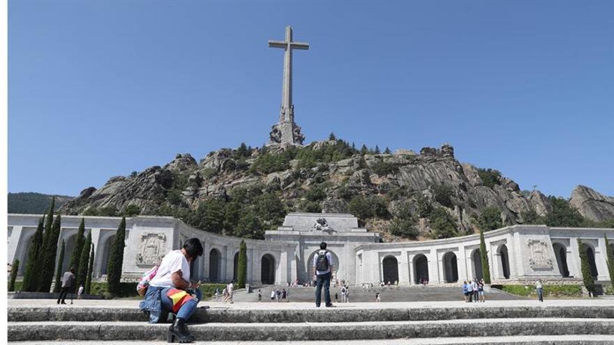 Los visitantes al Valle de los Caídos aumentaron un 77 % en el mes de agosto