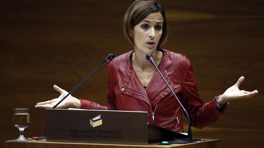 "Chivite (PSN) valora ""cosas claras"" de pacto vasco que le gustaría en Navarra"