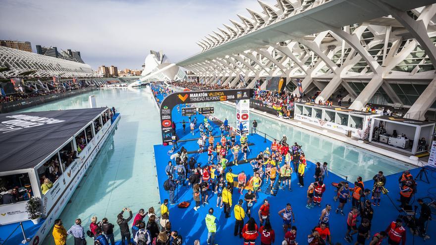 La psada edición del Maratón Valencia