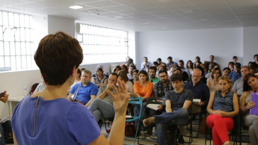Podemos forma en Madrid a sus futuros diputados autonómicos