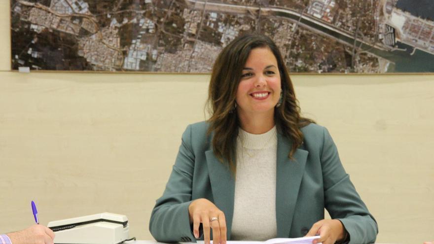 La vicealcaldesa de València y portavoz municipal del PSPV, Sandra Gómez