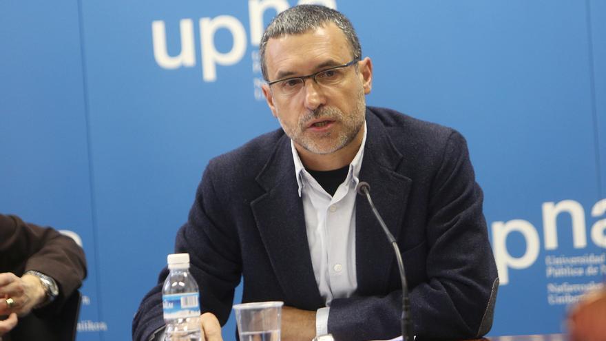El profesor de la Universidad Pública de Navarra Miguel Laparra / Foto: UPNA.