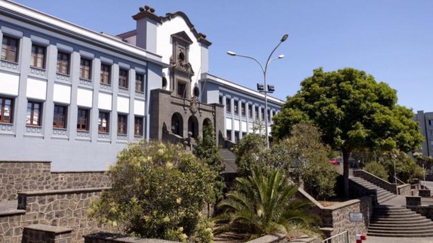 Campus de la Universidad de La Laguna.
