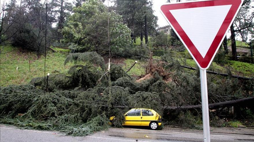 El temporal obliga a cortar carreteras de Andalucía, Aragón y País Vasco