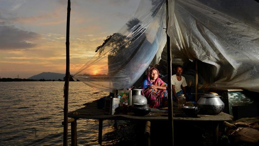 Al menos cinco muertos y 1,8 millones de afectados por lluvias en la India