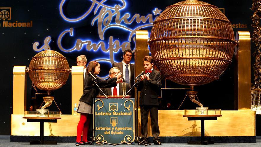 El Sorteo de la lotería de Navidad acapara la programación matinal de TVE