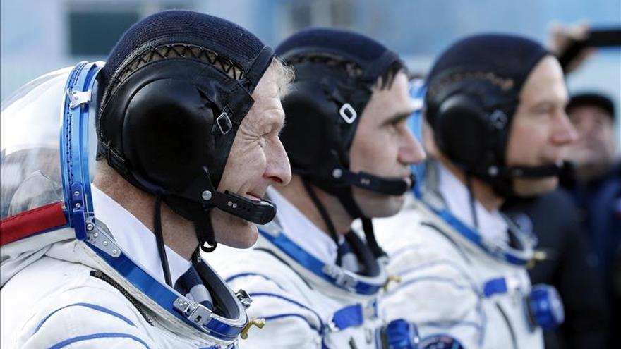 La nave tripulada rusa Soyuz TMA-19M despega rumbo a la EEI
