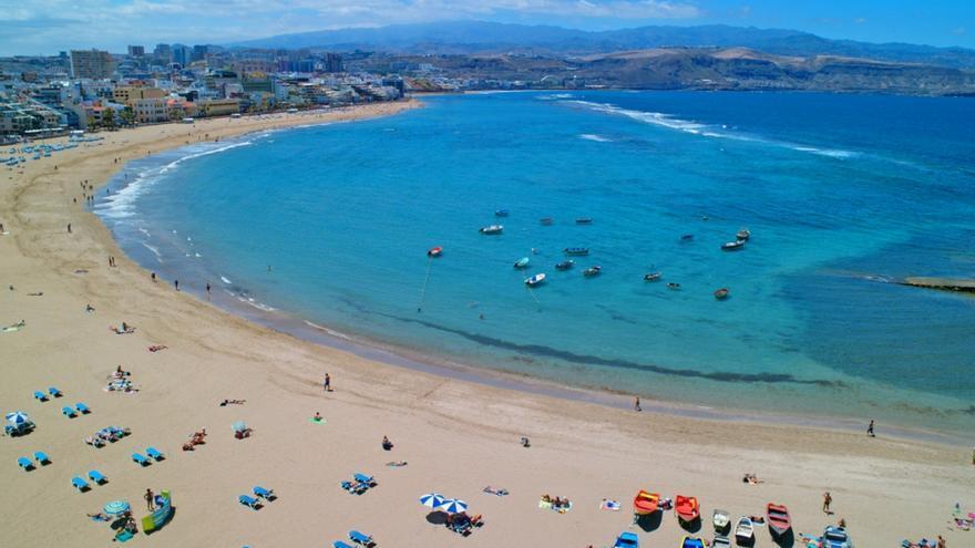 Playa de Las Canteras (FLICKR LPA VISIT)