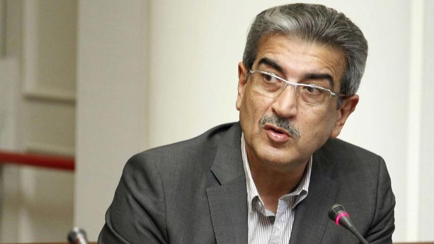 Román Rodríguez, presidente de Nueva Canarias