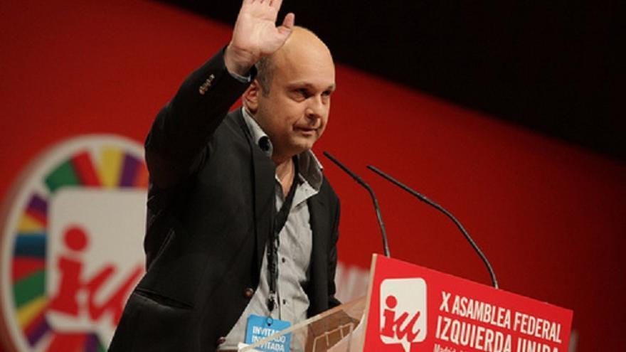 El líder de Syriza en Ática (Atenas), Stavros Karagkounis.