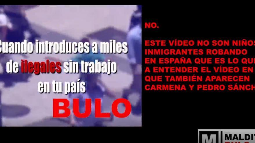 No, en este video no son niños inmigrantes robando en España. Las imágenes son de Brasil