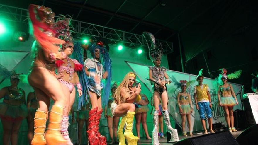 Imagen de archivo de la 'Gala Drag Queen' del pasado año.