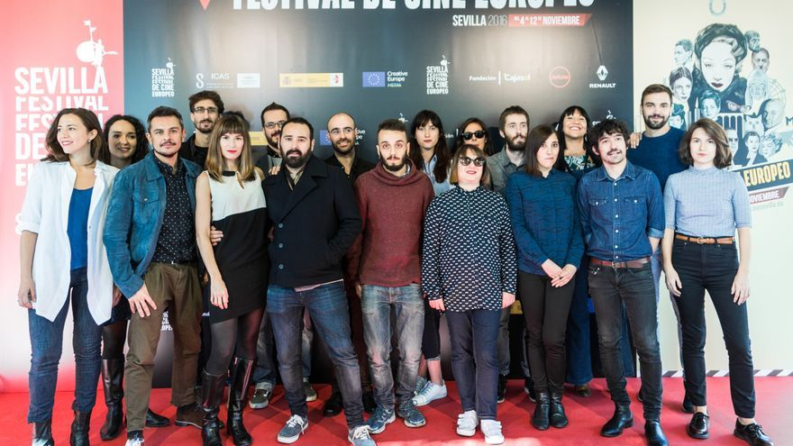 Realizadores de la sección Resistencias en Festival de Cine Europeo de Sevilla