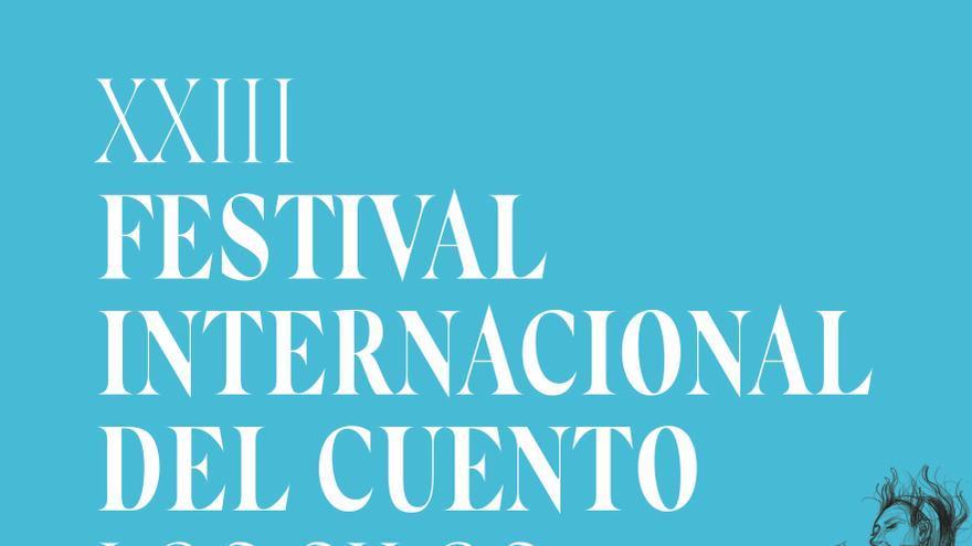 Cartel de la edición de 2018 del Festival del Cuento de Los Silos, en Tenerife