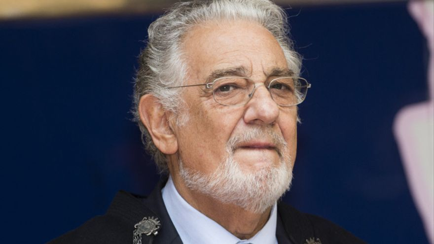Plácido Domingo, director de orquesta, productor y compositor español