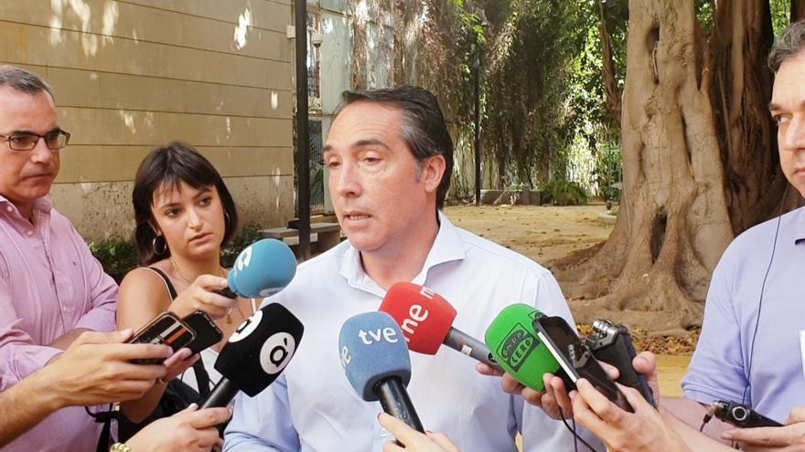 El portavoz de Economía del Grupo Parlamentario Popular (GPP), Rubén Ibáñez