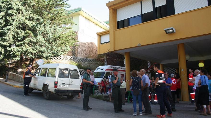 La residencia de estudiantes de Yeste alberga todavía a 92 personas que  han sido desalojadas de sus viviendas