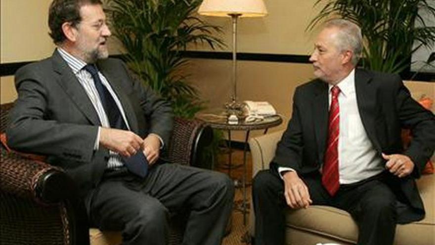 Rajoy recuerda ''la actitud dialogante'' de Martín