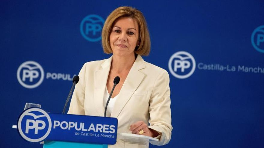 Cospedal renunciará a la Secretaria General del PP cuando sea candidata