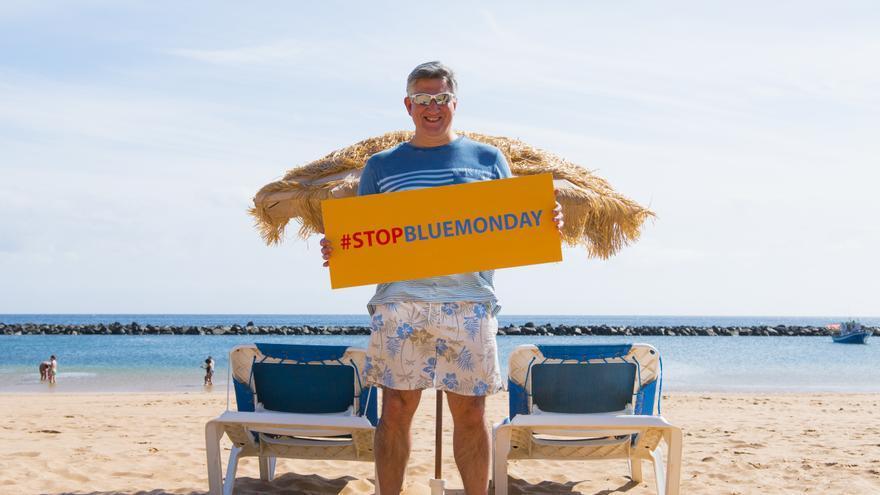 Cliff Arnall, psicólogo británico y creador del Blue Monday, un invento publicitario.