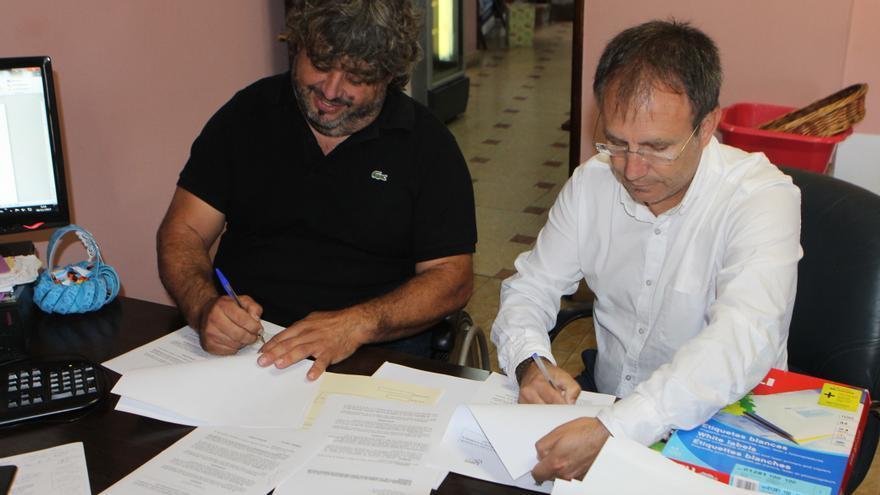 Miguel Ángel rodríguez (i) y Sergio Rodríguez.