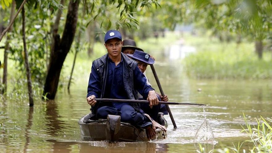Elevan a 41 el número de muertos en un naufragio en un río de Birmania