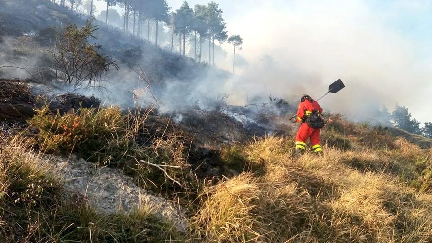 Revilla pide colaboración ciudadana para detener a autores de los incendios en Cantabria