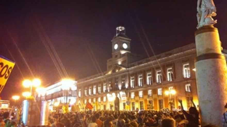 Manifestación Del Aniversario Del 15M