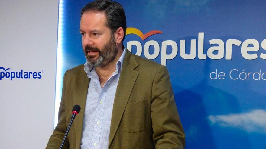 El presidente del PP de Córdoba, Adolfo Molina.