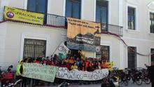 De Albacete a Murcia en bicicleta: la lucha sostenida y sostenible contra el 'fracking'