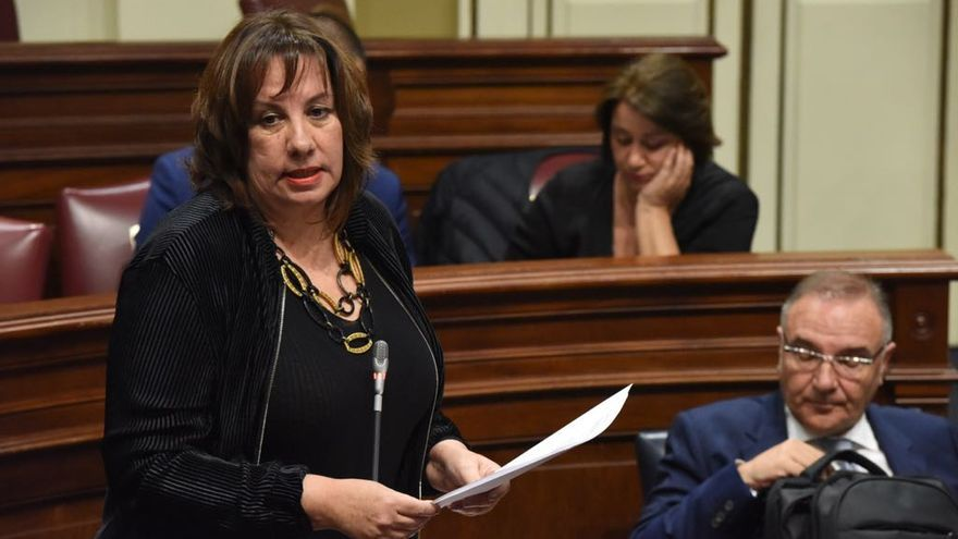 La consejera Soledad Monzón.