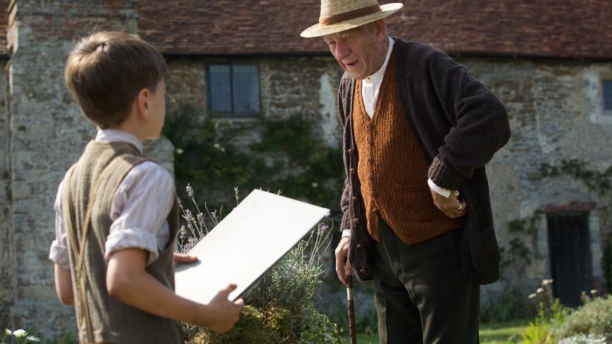 Fotograma de la película Mr Holmes