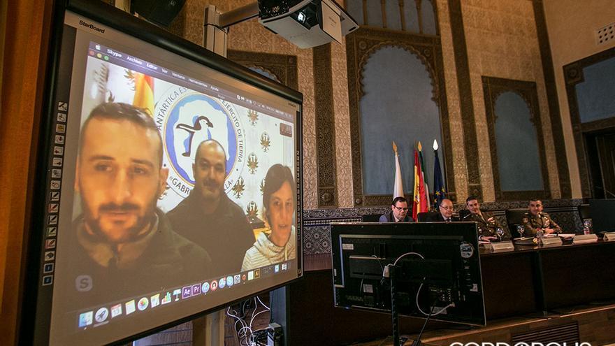 Videoconferencia con Estudiantes del Centro Intergeneracional de la Universidad de Córdoba comparten una videoconferencia con la base española Gabriel de Castilla en la Antártida | MADERO CUBERO