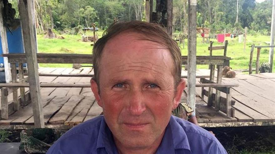 Un taxista ruso aparece en una solitaria región selvática del este de Colombia