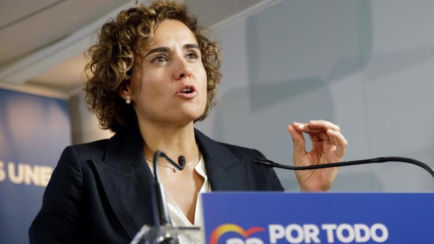 La portavoz del Partido Popular en el Parlamento Europeo Dolors Montserrat.