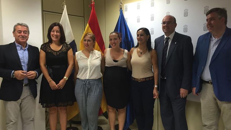 Toma de posesión de altos cargos de la Consejería de Políticas Sociales, Vivienda y Empleo del Gobierno de Canarias (EUROPA PRESS)